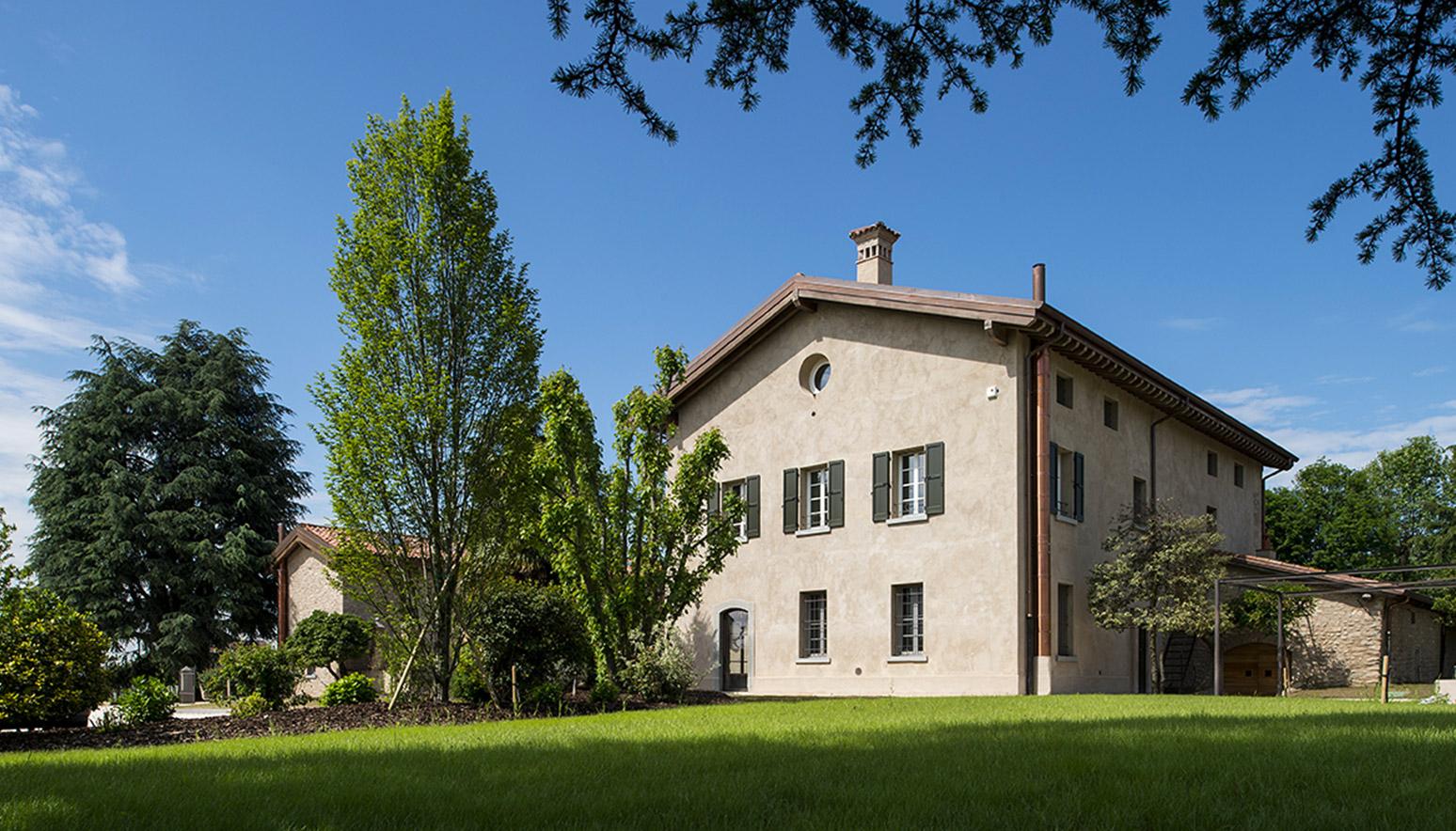 ristrutturazione antico casale